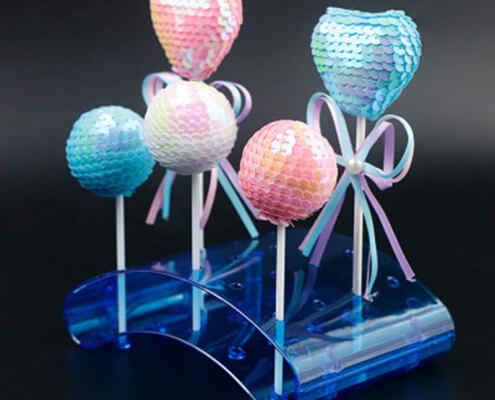 Arcual Acrylic Cake Pop Stand 20 Holes Lollipop Holder