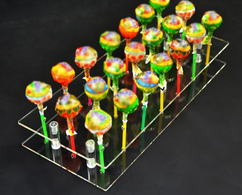 21 Holes Cake Pop Lollipop Stand Cupcake Holder For Birthday Wedding Party Activities