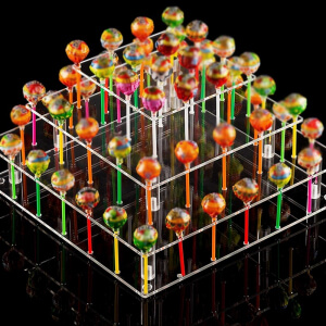 21/35/56 Holes Cake Pop Lollipop Stand Cupcake Holder For Birthday Wedding Party Activities