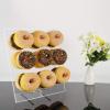 9 Pillars Acrylic Donut Stand Donut Wall Display Board Display Shelf Donut Holder Stand Display Rack 1
