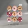 Acrylic Donuts Display Stand Wedding Birthday Party Cake Doughnut Clear Racks Display Stand for home diy 1