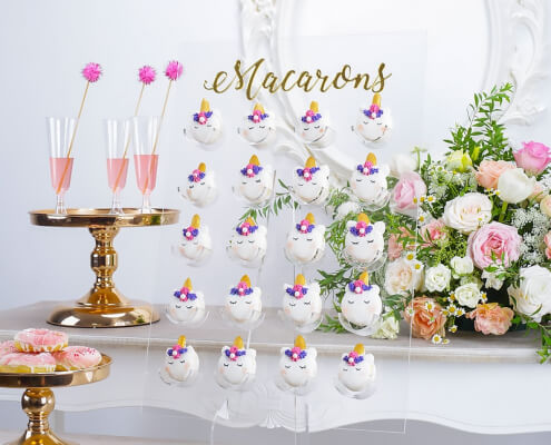 Acrylic Doughnut Wall Stand For 9/20 pcs Macaroon Acrylic Doughnut holder Macaroon stand fitting 9 20 pcs dessert display tools transparent home decoration storage