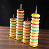 Gold Acrylic Donut Stands Donut Bar Wedding Donut Stands Decoration Birthday Party Supplies Baby Shower Holder 2