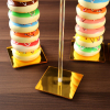 Gold Acrylic Donut Stands Donut Bar Wedding Donut Stands Decoration Birthday Party Supplies Baby Shower Holder 3