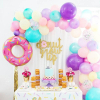 Plastic Donut Wall Candy Biscuits Dessert Cake Support Holder Stand Birthday Party Favors Donut Theme Wedding 4