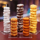 Plastic Donut Wall Candy Biscuits Dessert Cake Support Holder Stand Birthday Party Favors Donut Theme Wedding
