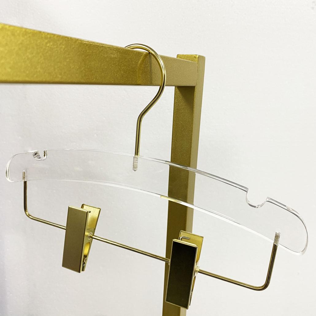 acrylic hanger for kids pants