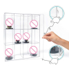 12 Grids Clear Acrylic Model Toy Display Case Action Figures Dustproof Showcase 1