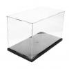 31x17x19cm DIY Assembly Transparent Acrylic Display Case Car Boat Toy Dustproof Storage Show Box For Action 2