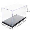31x17x19cm DIY Assembly Transparent Acrylic Display Case Car Boat Toy Dustproof Storage Show Box For Action 5