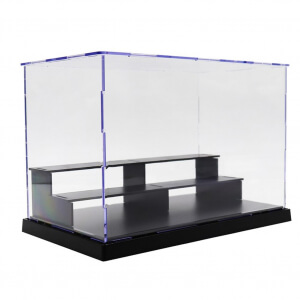 Acrylic Action Figures Model Transparent Display Case Toy DIY Assembling Storage Box Car Ship Collectibles Cabinets