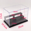 Acrylic Action Figures Model Transparent Display Case Toy DIY Assembling Storage Box Car Ship Collectibles Cabinets 5