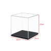 Acrylic Action Figures Model Transparent Display Case Toy DIY Assembling Storage Box Collectibles Cabinets Toys 2
