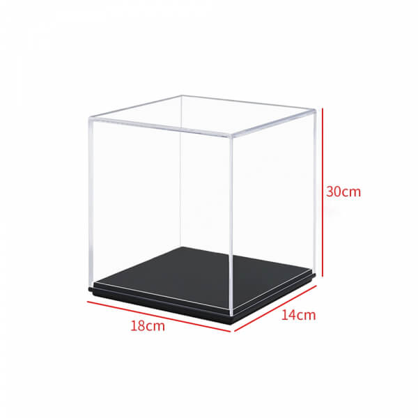Acrylic Action Figures Model Transparent Display Case Toy DIY Assembling Storage Box Collectibles Cabinets Toys
