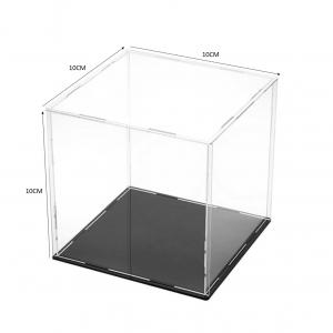 acrylic action figure case 10x10x10